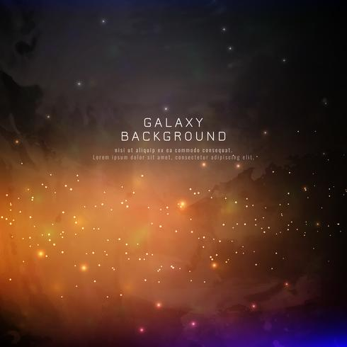 Abstarct galaxy background vector