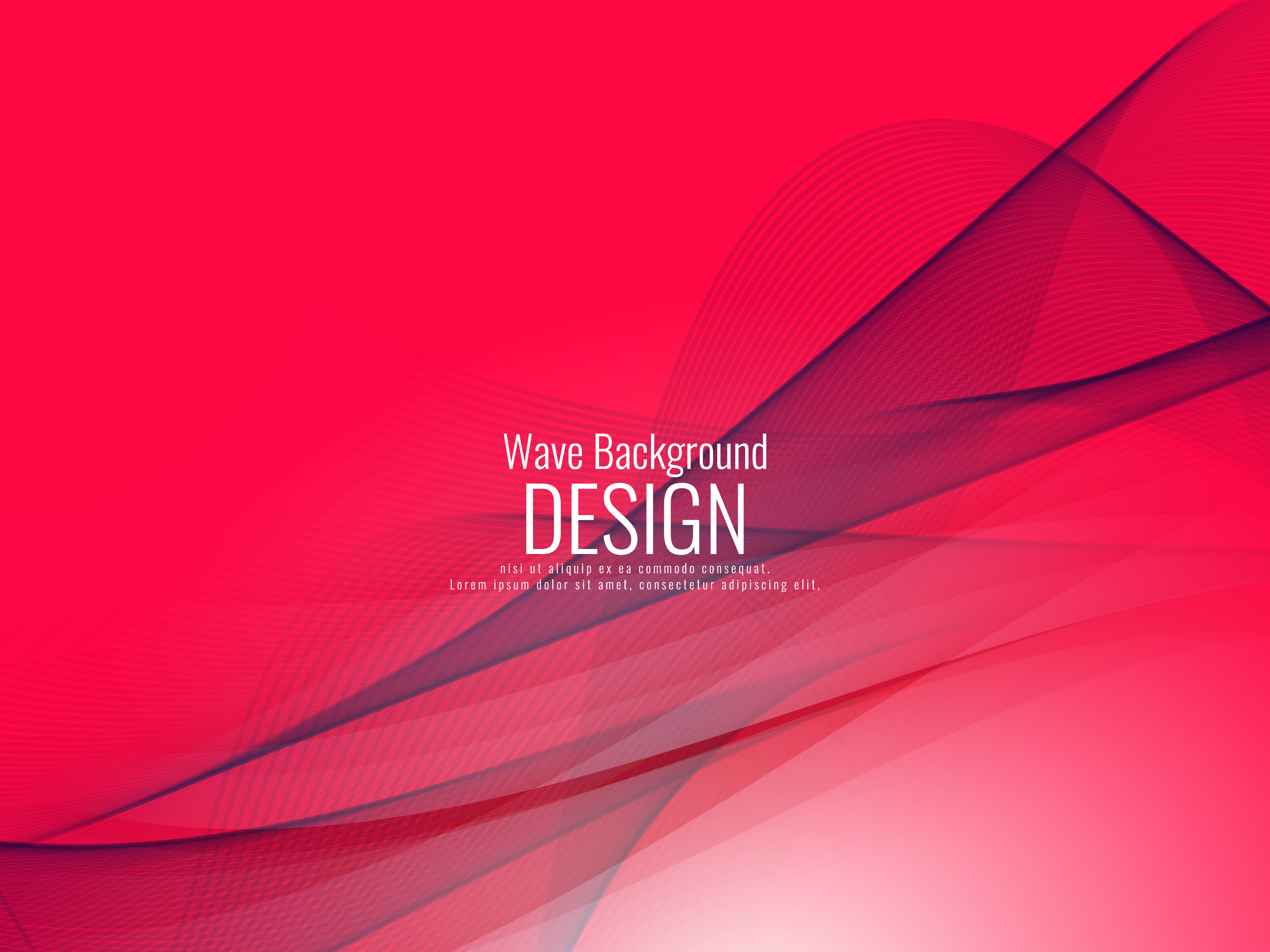 Red Wave Wallpaper Free Vector Art Free Downloads