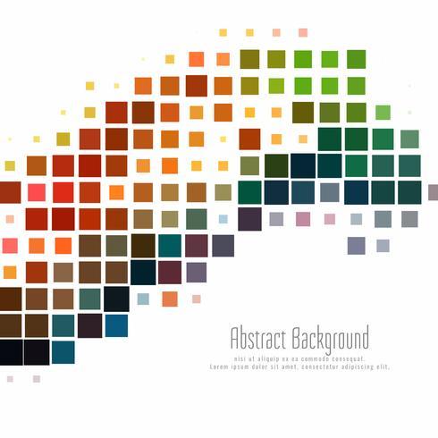 Fondo abstracto colorido mosaico