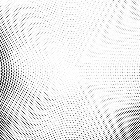 Abstracte moderne halftone ontwerpachtergrond