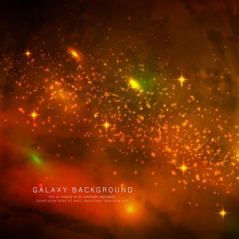 Abstarct fond de galaxie magique