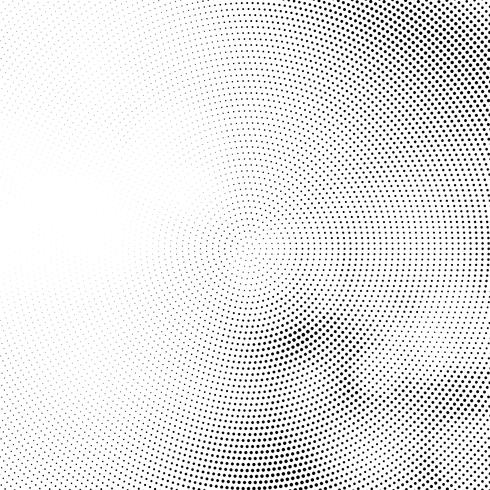 Abstract circular halftone design background