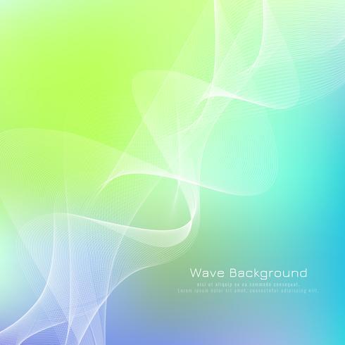 Astratto sfondo colorato onda vettore