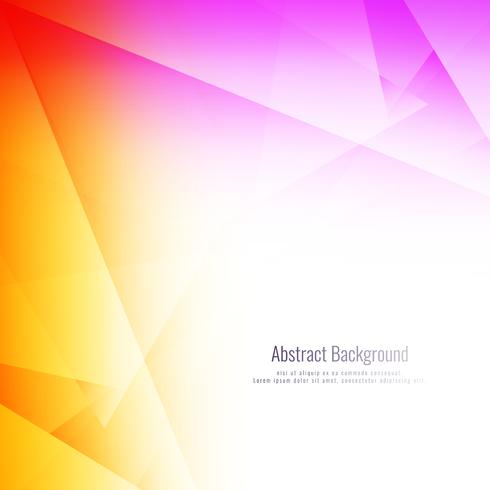 Abstrakter bunter polygonaler Hintergrund