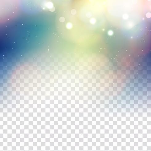 L'estratto brilla fondo trasparente