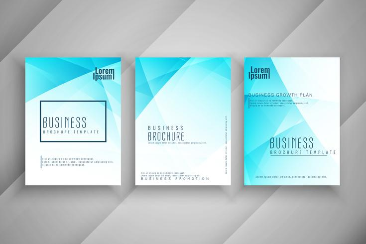 Abstract business brochure template design set download free abstract business brochure template design set cheaphphosting Choice Image