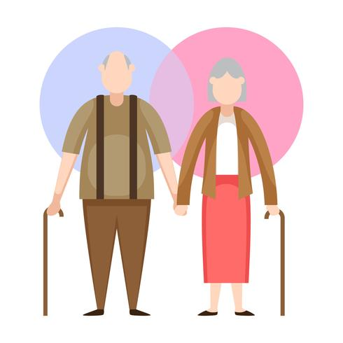 Vecteurs de grands-parents uniques