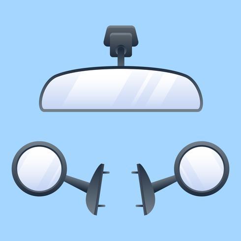 Espejos retrovisores únicos