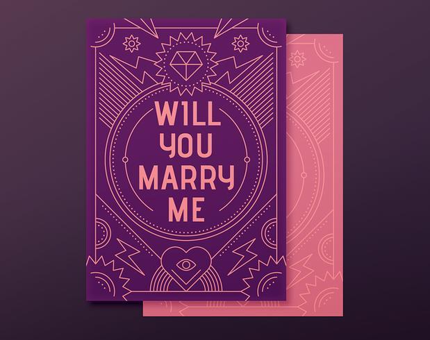 Tarjeta de propuesta de compromiso
