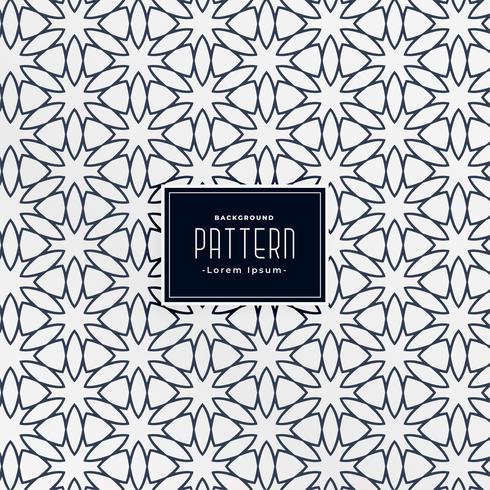 abstrakter arabischer dekorativer Musterhintergrund