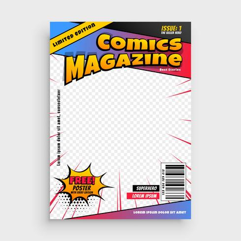 komisk magasin bokomslag mall