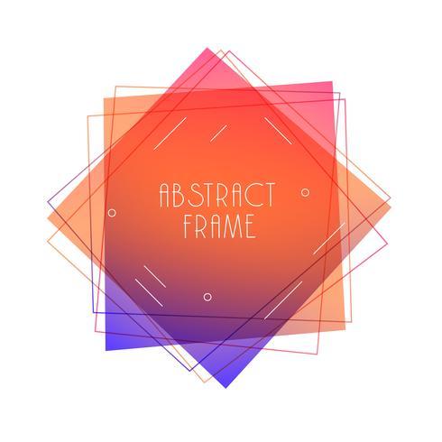 fond géométrique abstrait style memphis