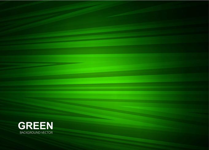 Abstracte groene lijnenvector als achtergrond vector