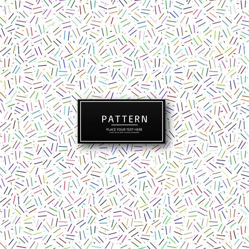 Modern geometric colorful pattern vector