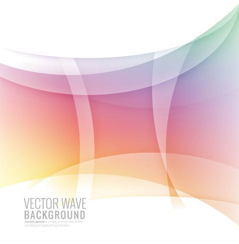 Abstracte heldere golf kleurrijke achtergrond