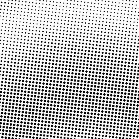 Abstrait comique en pointillé