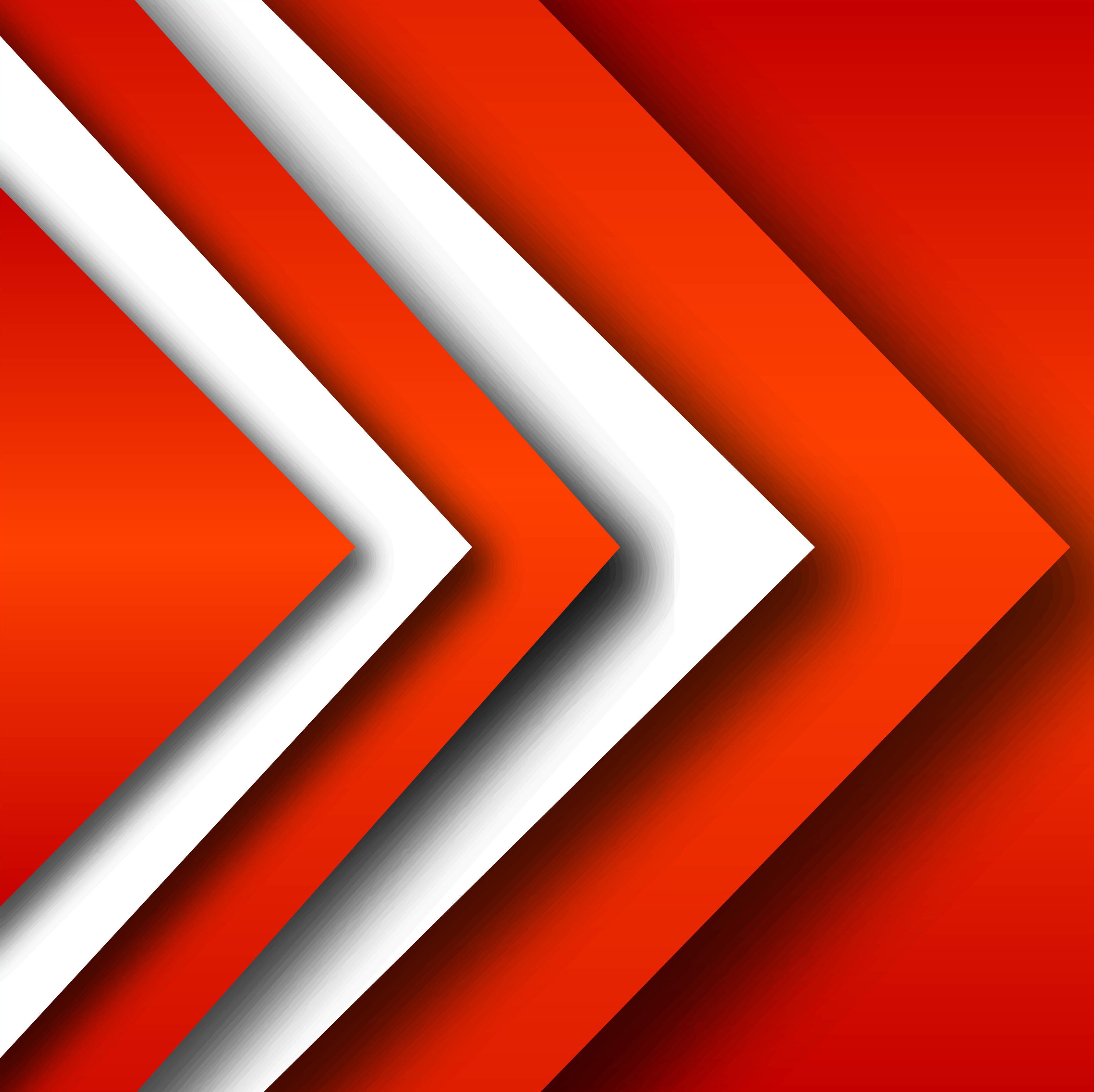 Modern Stylish Geometric Red Background Vector 241317