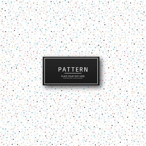 Mooie kleurrijke het patroonvector van het puntenpatroon