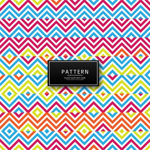 Abstract colorful geometric pattern background