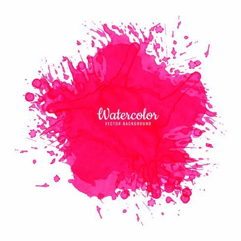 Mooie roze waterverfachtergrond