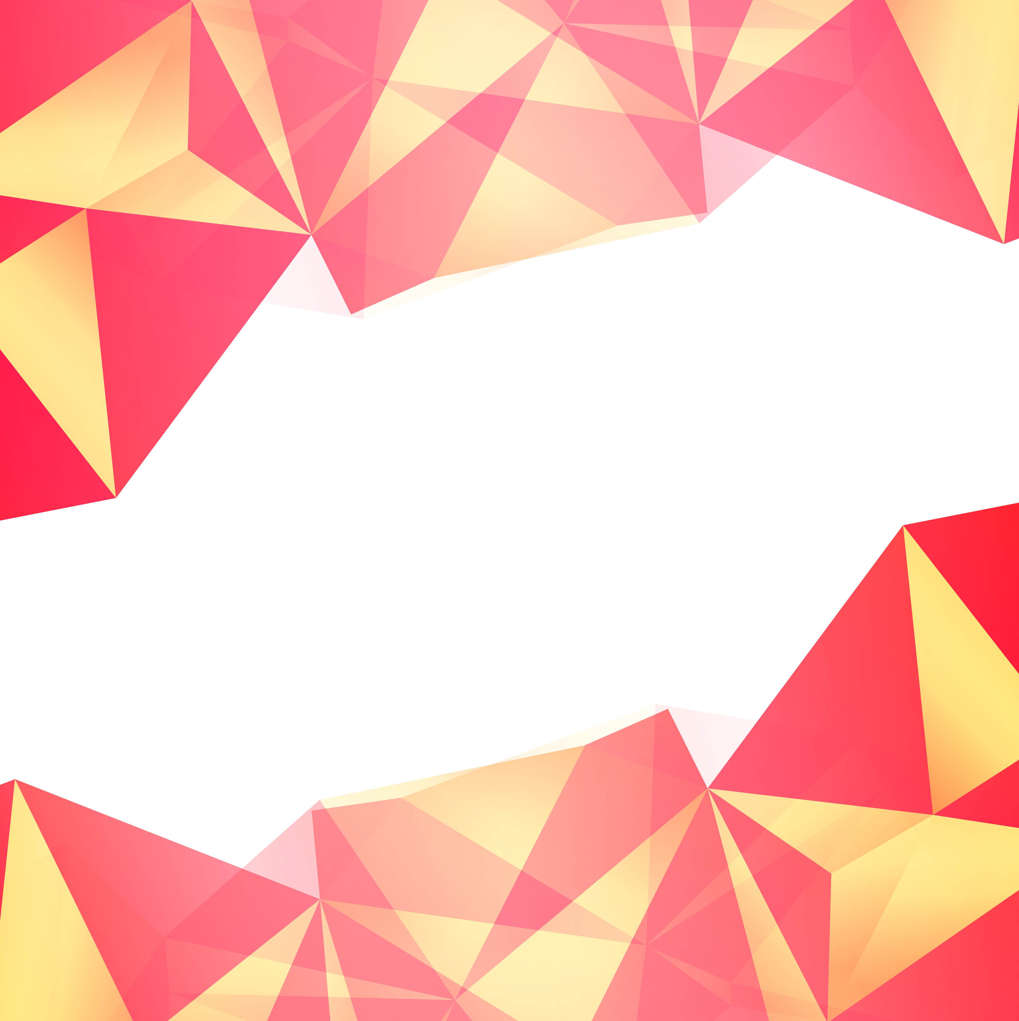 Abstract colorful polygon background vector - Download ...