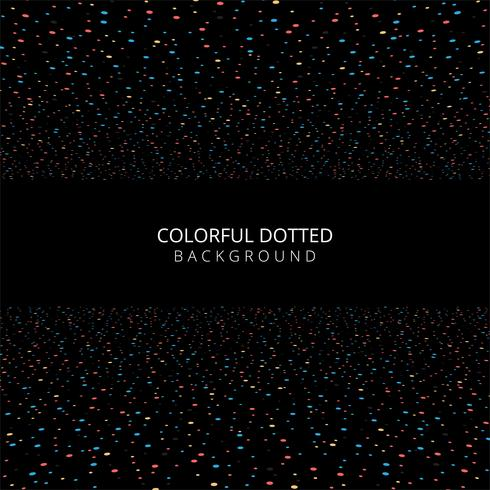 Abstract colorful dots background vector