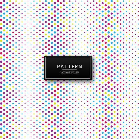 Abstracte kleurrijke gestippelde patroonachtergrond