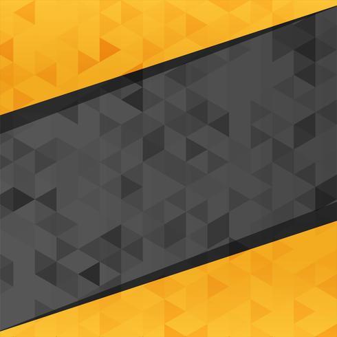 Abstracte stijlvolle veelhoek achtergrond vector