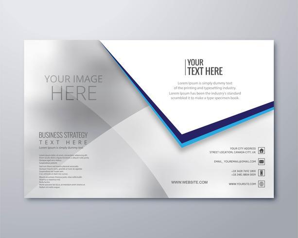Moderne zakelijke brochure sjabloon vector