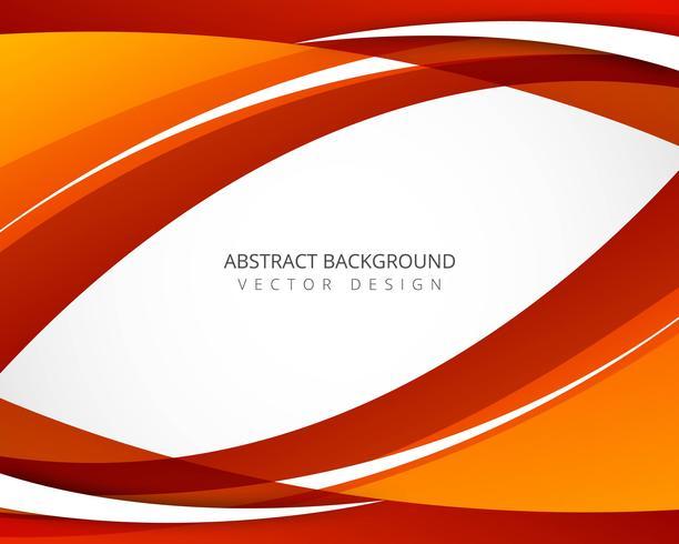 Beautiful creative bright wavy background vector