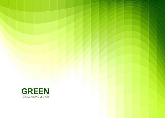 Fond de mosaïque ondulée verte moderne