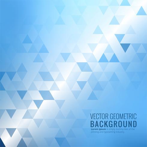 Abstrakt blå triangel geometrisk bakgrund