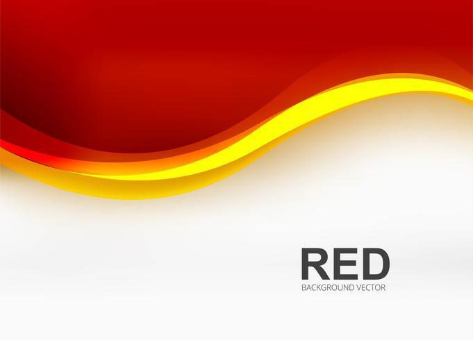 Illustration de fond moderne vague rouge affaires