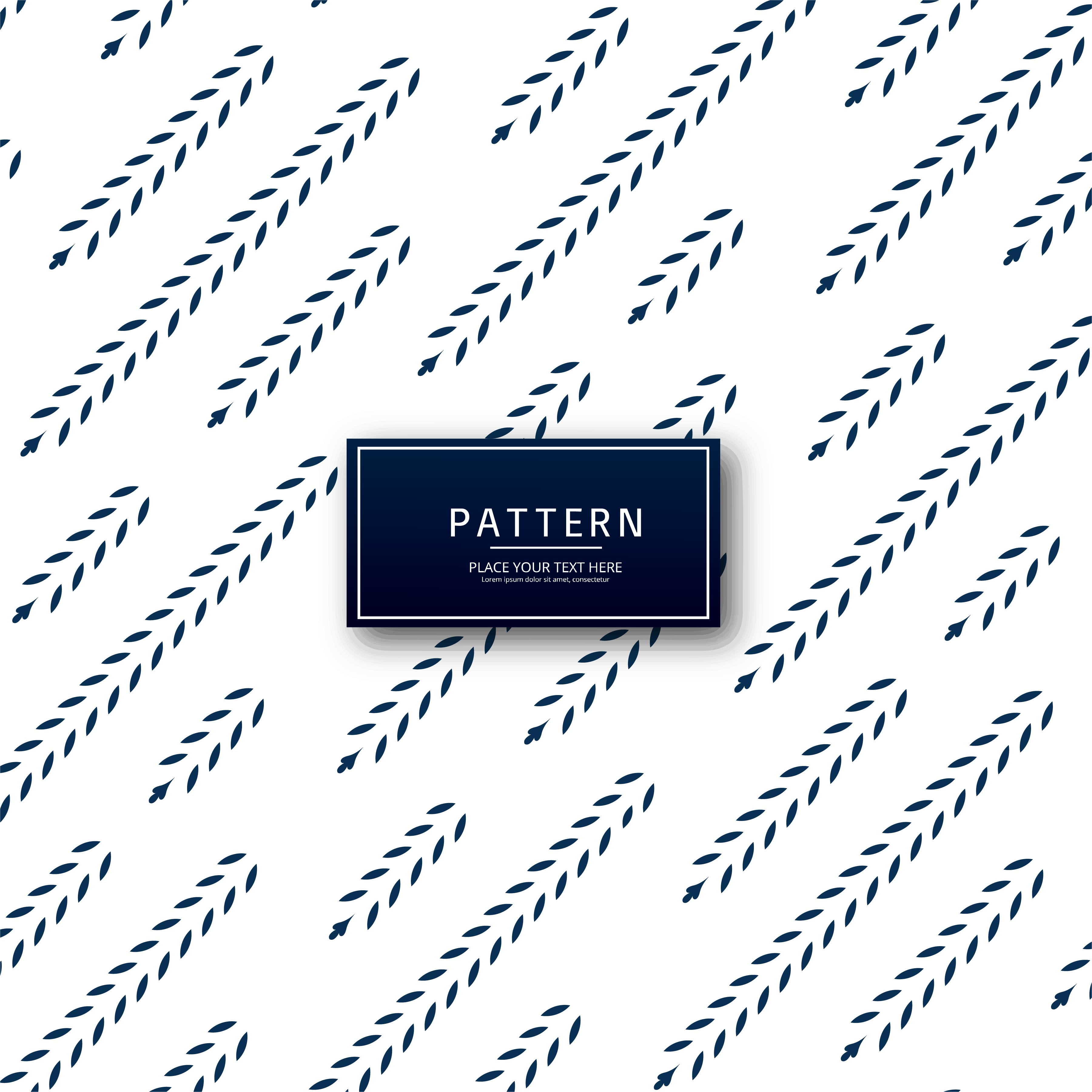 beautiful leaf seamless pattern design download free