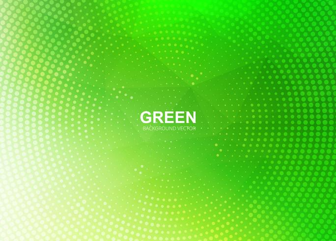 Modern green polygon background illustration