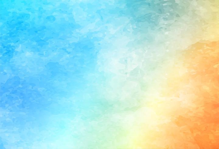 Beau fond aquarelle coloré