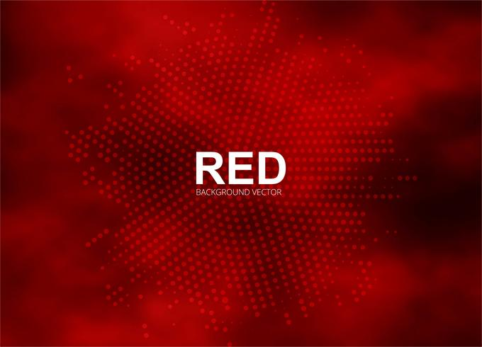 Illustration de fond abstrait demi-teinte rouge