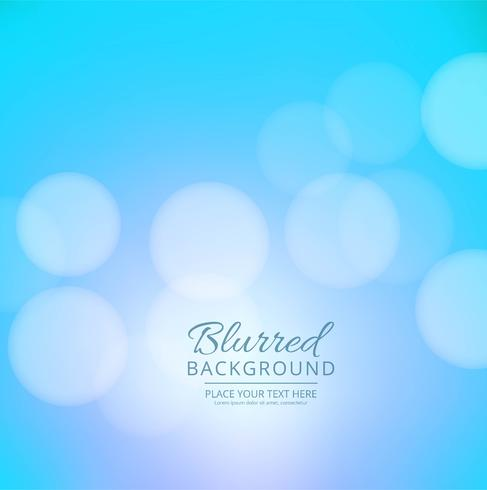 Beautiful blue colorful blurred background