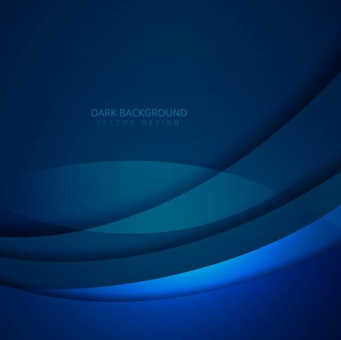 Abstract blue elegant wavy background