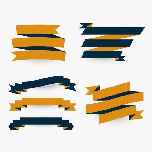 conjunto de cintas planas premium