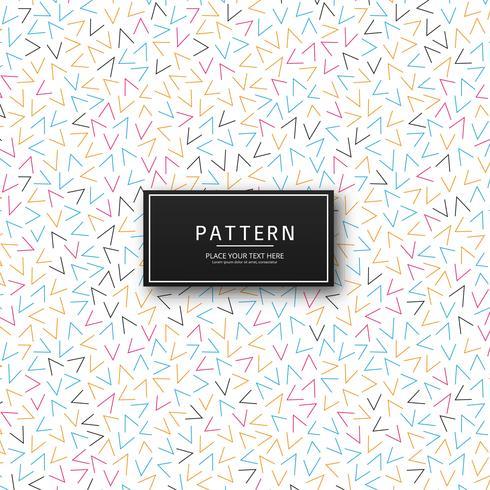 Vecteur de fond moderne motif coloré memphis