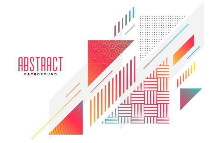 abstracte driehoek vorm stijlvolle achtergrond