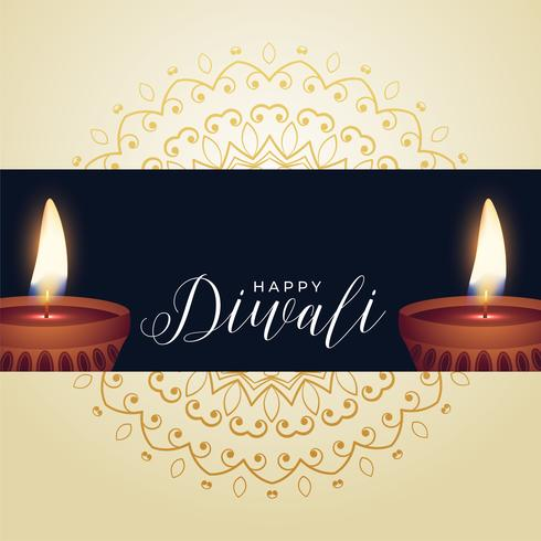 glad diwali festival hälsning bakgrund
