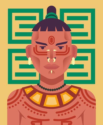 Ilustración de pueblos indígenas