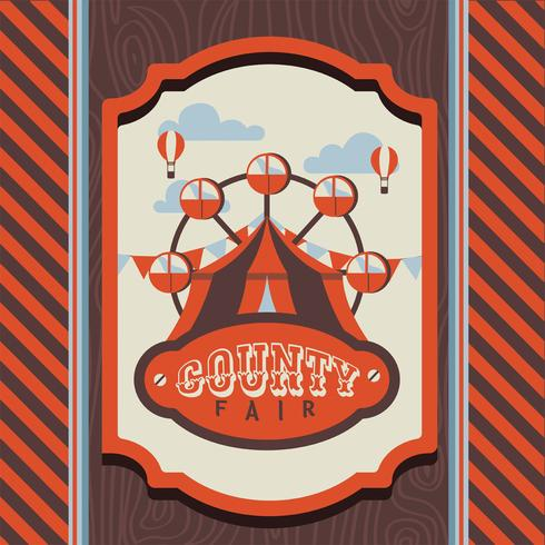 Country Fair Vector Design