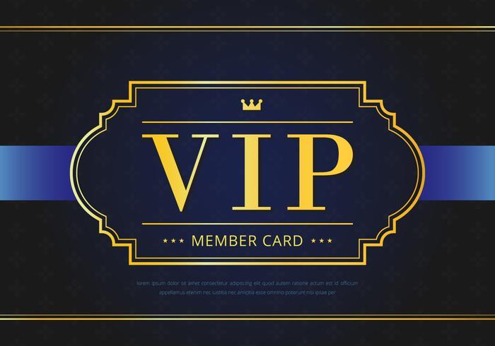 Pase VIP elegante fondo premium