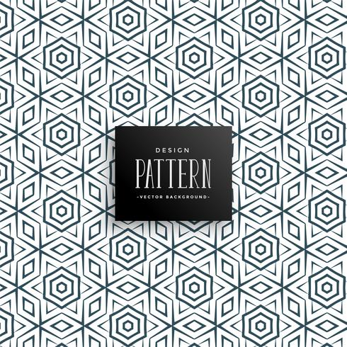 Fondo de patrón de línea de estilo islámico