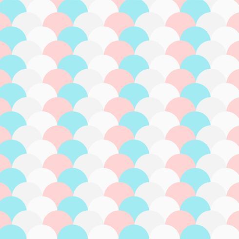patrón de círculo repetido color pastel