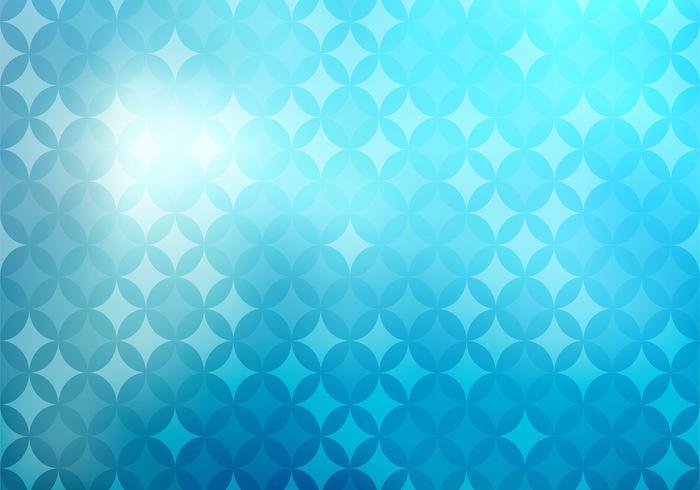 Ilustración abstracta del fondo de las estrellas azules