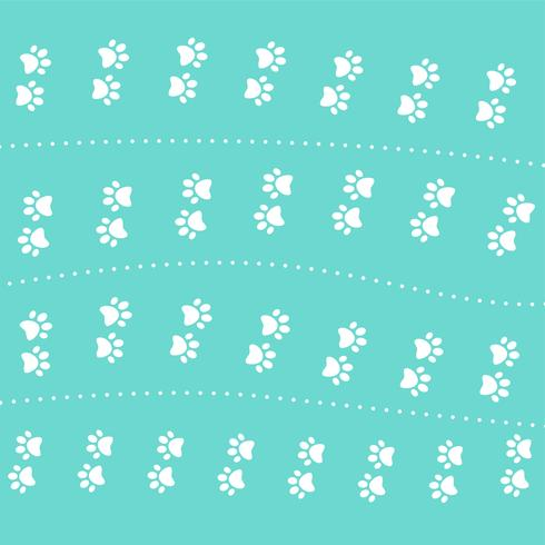 cute kitten pow pattern design